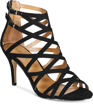 Report Kareena Caged Dress Sandals $59 thestylecure.com