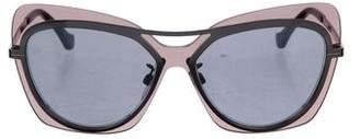 Balenciaga Tinted Cat-Eye Sunglasses