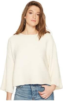 BB Dakota Claudel Rib Stitch Wide Rib Sweater Women's Sweater
