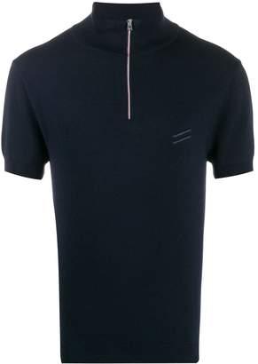 Ron Dorff zip-up polo shirt