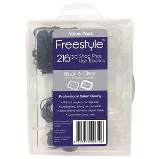 Freestyle Snag Free Hair Elastics 216 pack
