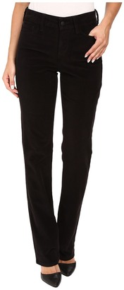 NYDJ Marilyn Straight Jeans in Corduroy $114 thestylecure.com