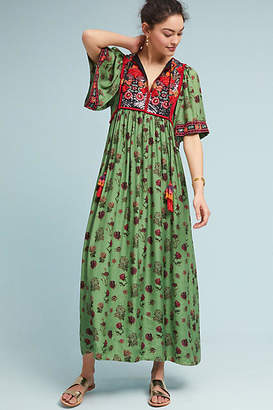 Verb by Pallavi Singhee Basil Embroidered Dress