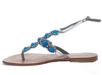Couture Madame Beaded Thong Sandal