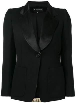 Ann Demeulemeester striped blazer back jacket