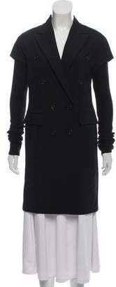 Elizabeth and James Double-Breasted Wool Coat
