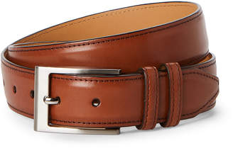 Robert Talbott Cognac Leather Dress Belt