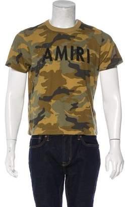 Amiri Distressed Camo T-Shirt
