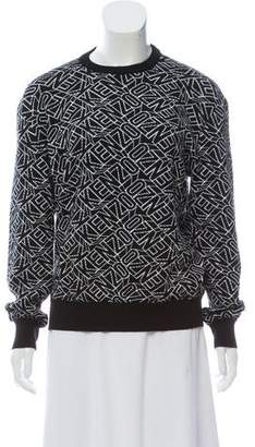 Kenzo Intarsia Long Sleeve Sweater