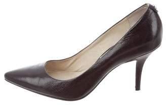 MICHAEL Michael Kors Michael Kors Pointed-Toe Patent Leather Pumps