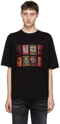 Marcelo Burlon County of Milan Black Tarot T-Shirt