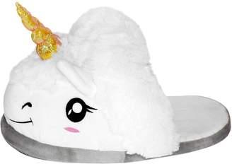 ThinkGeek Plush Unicorn Slippers for Grown Ups