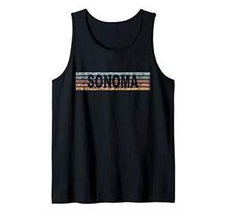 Sonoma California CA USA Retro Tank Top