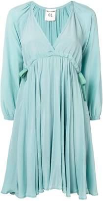 Semi-Couture Semicouture empire line midi dress