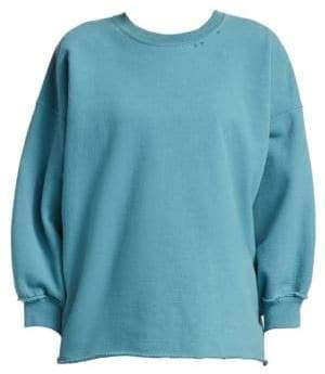 Rachel Comey Fond Distressed Crewneck Sweatshirt