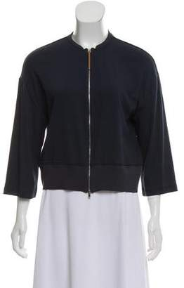 Fabiana Filippi Zip-Up Knit Jacket