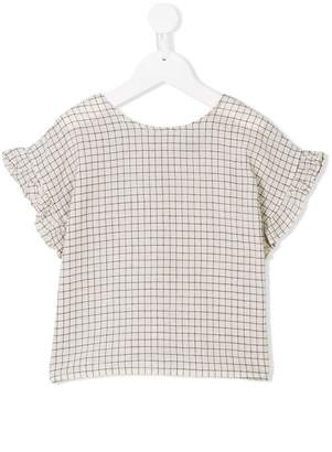 Emile et Ida grid pattern top