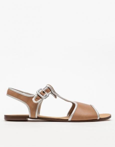 Marais Usa T-Strap Sandal In Sand