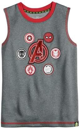 Spiderman Boys 4-10 Marvel Hero Elite Series Avengers Infinity Wars Collection for Kohl's Muscle Tee