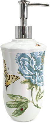 Lenox Blue Floral Garden Lotion Dispenser Bedding