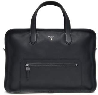 Serapian Zip Pocket Briefcase
