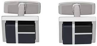 HUGO BOSS square cufflinks