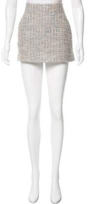 Theyskens' Theory Tweed Mini Skirt