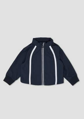 Emporio Armani Tech Fabric Jacket With Contrasting Bands