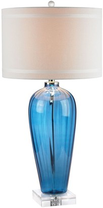 Dimond Blue Glass Table Lamp