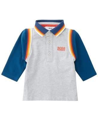 HUGO BOSS Kids Bright Trim Polo