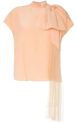 DELPOZO bow detail blouse