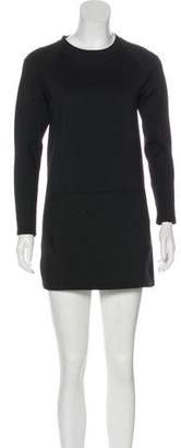 J Brand Long Sleeve Mini Dress