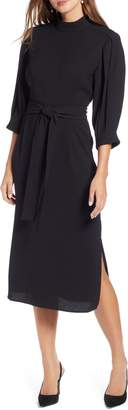 Halogen Tie Waist Dress