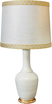 "Christopher Spitzmiller X Alex Papachristidis Exclusive AP Alex Lamp"" with custom lampshade"