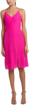Amanda Uprichard Darcy Silk A-Line Dress