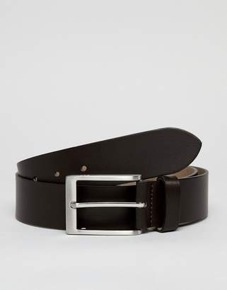 Esprit Smart Leather Belt In Brown