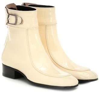 Saint Laurent Miles leather ankle boots