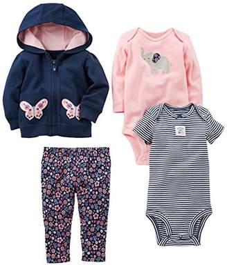 Carter's Simple Joys by Baby Girls' 4-Piece Little Jacket Set