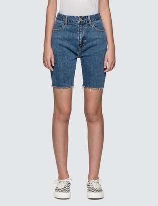 X-girl X Girl Biker Denim Shorts