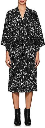 Nili Lotan Women's Rey Silk Wrap Dress