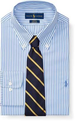 Ralph Lauren Slim Fit Striped Poplin Shirt