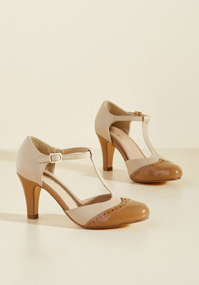 Chelsea Crew Vivacious Vibes T-Strap Heel in Tan in 37 $69.99 thestylecure.com