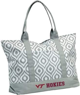 NCAA Logo Brand Virginia Tech Hokies Ikat Tote