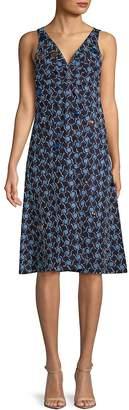 Marni Women's Embroidered Sleeveless Dress