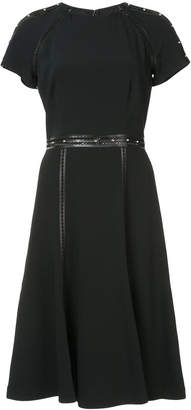 Jonathan Simkhai belted T-shirt dress