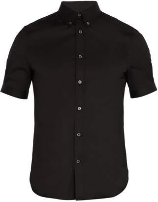 Alexander McQueen Brad Pitt short-sleeve poplin shirt
