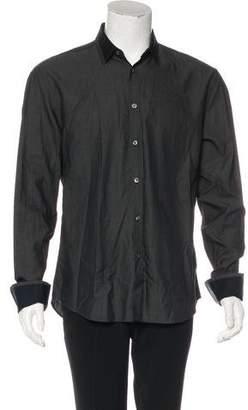 Kenzo Woven Button Shirt