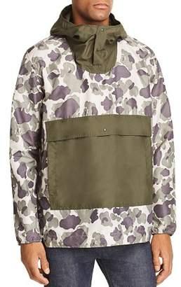 Herschel Camouflage Color-Block Anorak Jacket