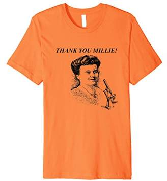 Thank you Millie T Shirt Honoring Women Scientists Brights