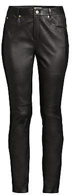 Escada Sport Women's Lenima Leather Ankle Pants